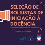 PIBID - Seleção de Bolsistas